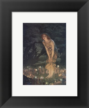 Framed Midsummer Eve, c.1908 Print