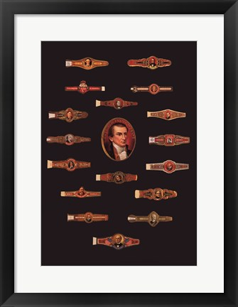 Framed Cigar Band No27 Print