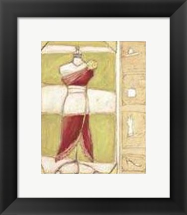 Framed Haute Couture One Print