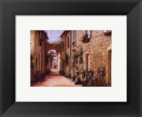 Framed Tuscan Light Print
