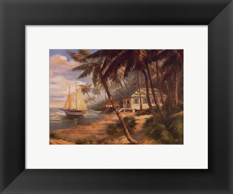 Framed Key West Hideaway Print