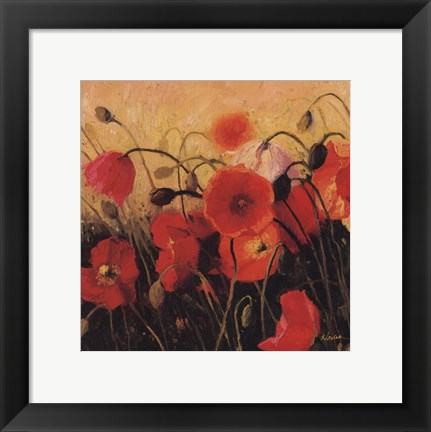 Framed Poppy Party Print