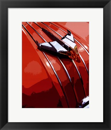 Framed Tail Fins And Two Tones V Print