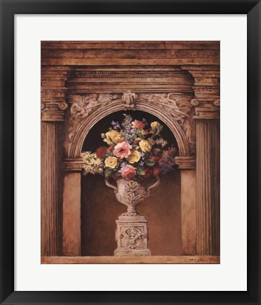 Framed Floral Arch II Print
