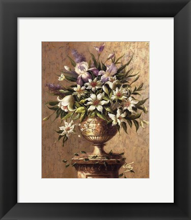 Framed Floral Expressions ll Print