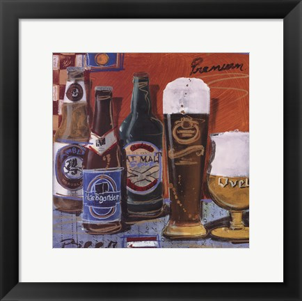 Framed Beer Ale II Print