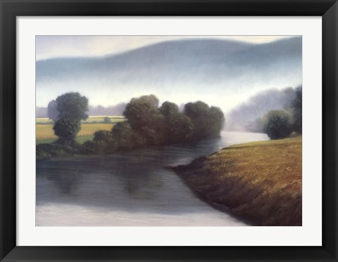 Framed River Meadows Print