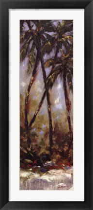 Framed Contempo Palm I Print
