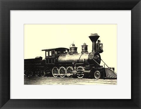 Framed Locomotive IV Print