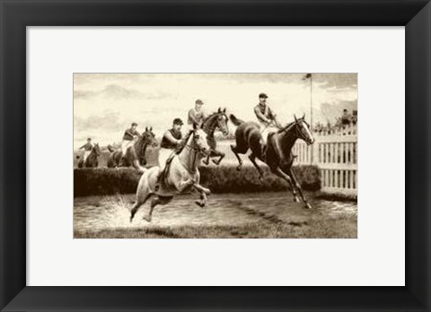 Framed Grand National Print