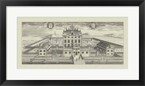 Framed View Of Grandeur I Print