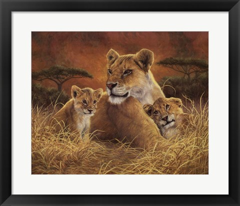 Framed Motherly Print