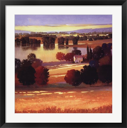 Framed Early Autumn II Print