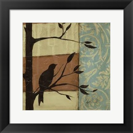 Framed Arts Crafts Silhouette III Print