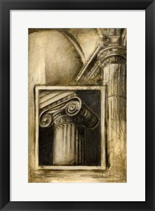Framed Classical Influence I Print