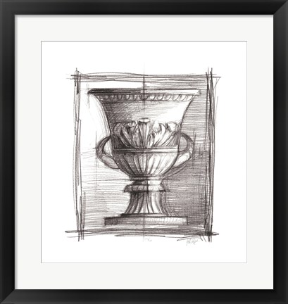 Framed Classical Elements II Print