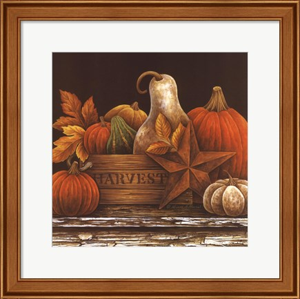 Framed Fall Favorites Print