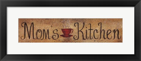 Framed Mom's Kitchen Print