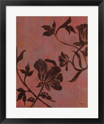 Framed La Vie En Rose II - CS Print