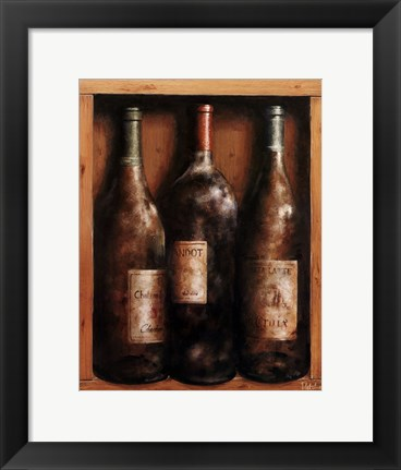 Framed Straight from the Cellar II Print