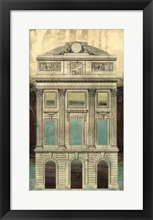 Framed Architectural Illusion II Print