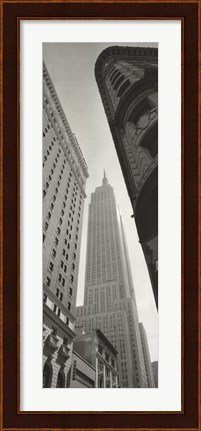 Framed Empire State Building - Broadway Print