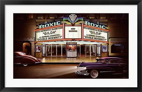 Framed Roxie Picture Palace Print