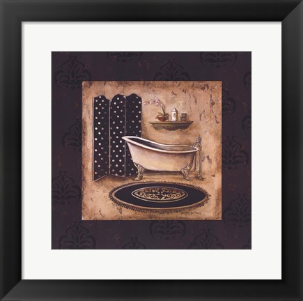 Framed Bath Time I Print