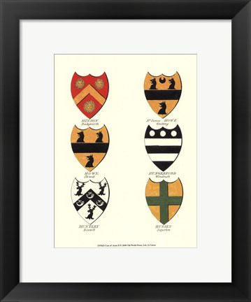 Framed Coat of Arms II Print