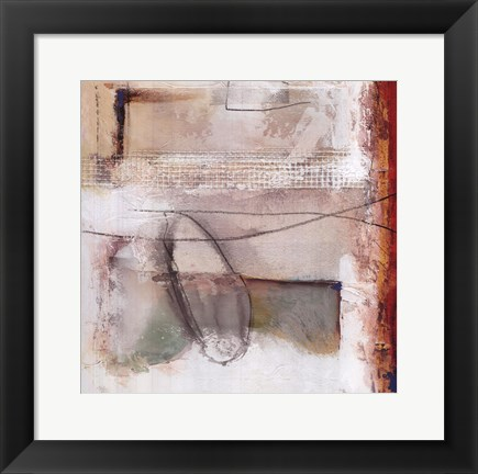 Framed Sokol-hohne - Abstract II Print