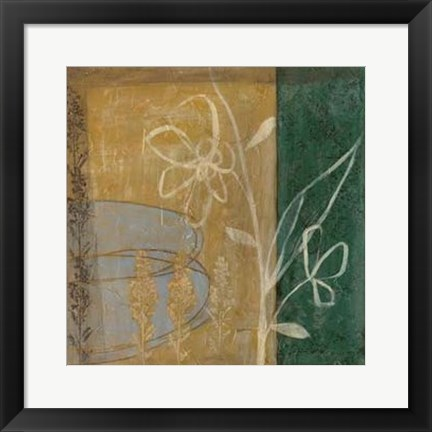Framed Pressed Wildflowers IV Print