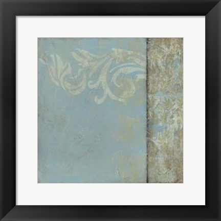 Framed Ornamental Element II Print
