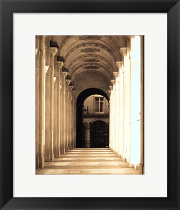Framed Passage Marly Print