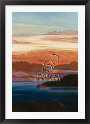 Framed Lake Powell Afternoon Print