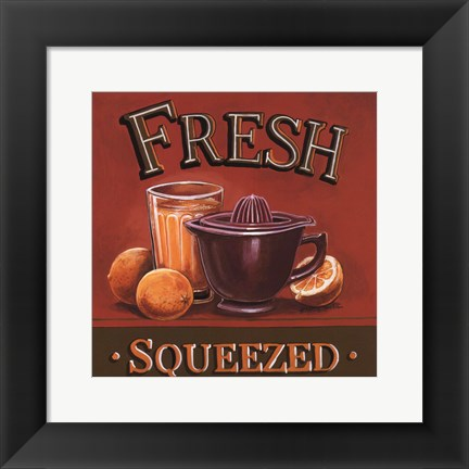 Framed Fresh Squeezed - Mini Print