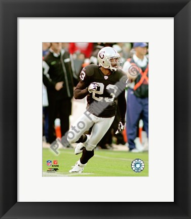 Framed DeAngelo Hall 2008 Action Print