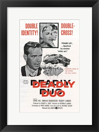 Framed Deadly Duo Print