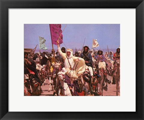 Framed Lawrence of Arabia Screen Shot Print
