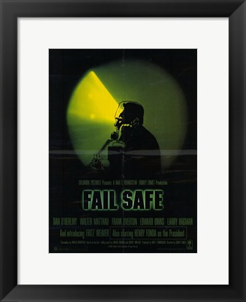 Framed Fail Safe Print