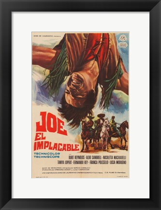 Framed Navajo Joe Print