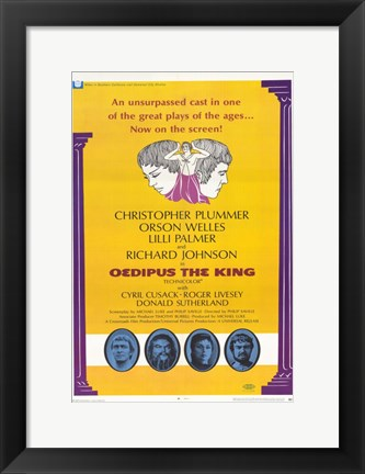 Framed Oedipus the King Print