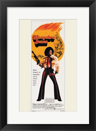 Framed Cleopatra Jones, c.1973 - style C Print