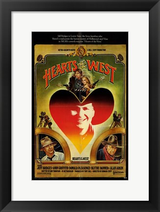 Framed Hearts of the West Print