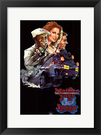 Framed Mother Jugs and Speed Movie Print