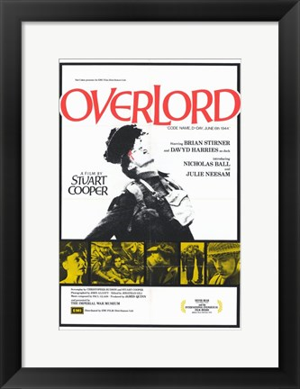 Framed Overlord Print