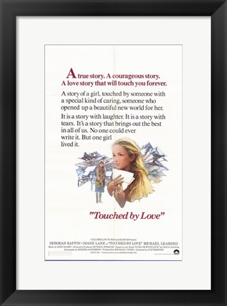 Framed Touched By Love Print
