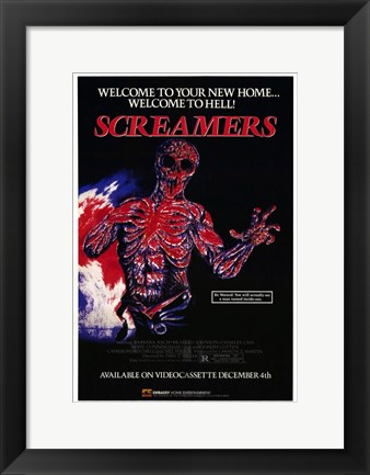 Framed Screamers - Welcome to Hell Print