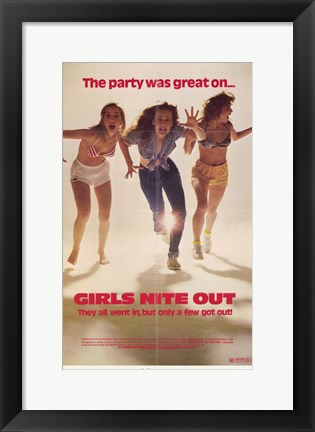 Framed Girls Nite Out Print