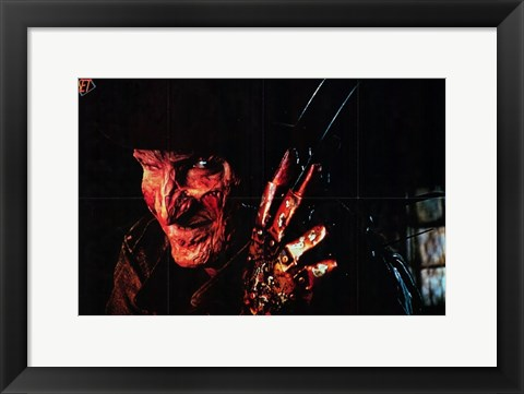 Framed Nightmare on Elm Street Print