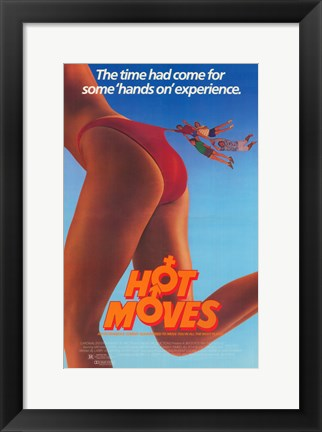 Framed Hot Moves Print